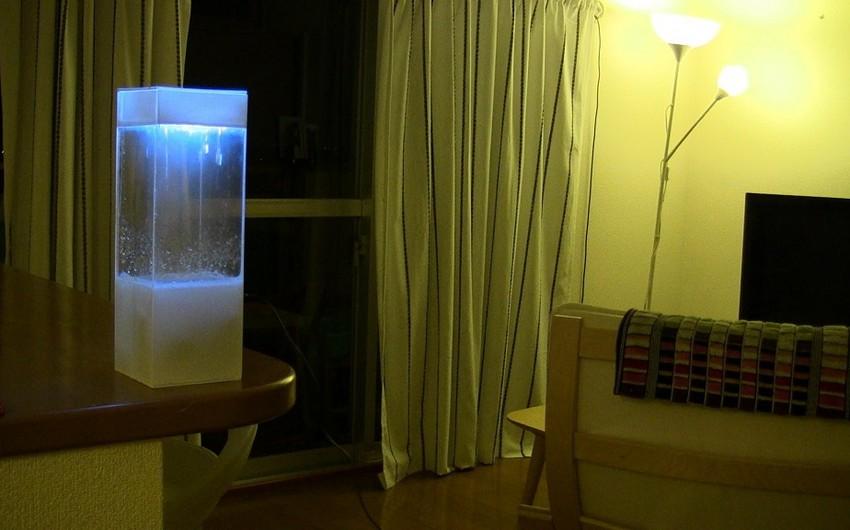 Yaponiyada hava proqnozunu əyani şəkildə göstərən cihaz yaradılıb - FOTO