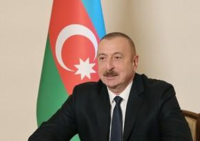 Ильхам Алиев: Истоки более 10 наших рек находятся на освобожденных от оккупации землях