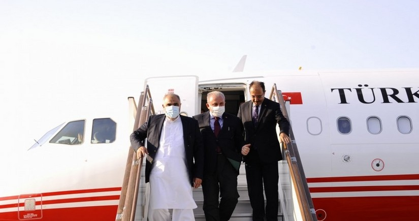 Председатели парламентов Турции и Пакистана прибыли с визитом в Азербайджан