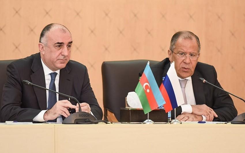 Главы МИД Азербайджана и России обсудят вопросы двустороннего сотрудничества