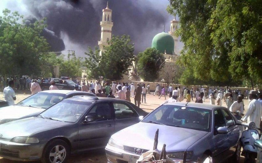 Two suicide bombers killed 22 in Nigeria