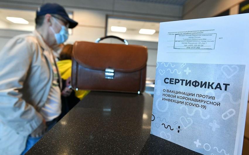 ÜST: Peyvənd pasportları səyahət üçün istifadə edilməməlidir