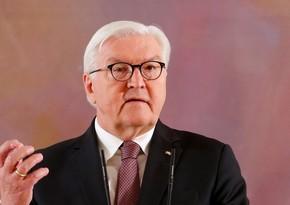 Президент Германии: Мы должны делать все для защиты межправа и территориальной целостности