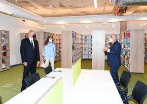 UNEC-in yeni korpusunun açılışında, Prezident və birinci xanim iştirak etdi