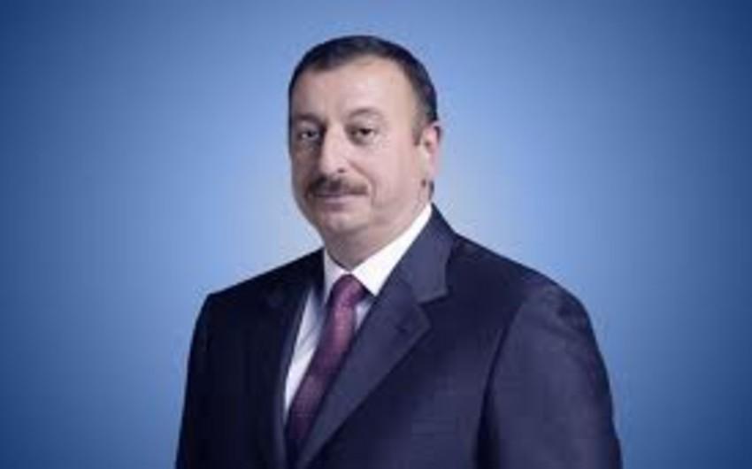 Azərbaycan Prezidenti Məmmədbağır Əliyevə təbrik məktubu göndərib
