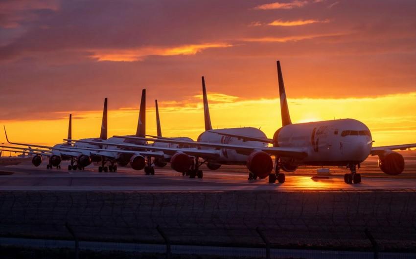 Мировые пассажирские авиаперевозки за 2 года упали на 53%