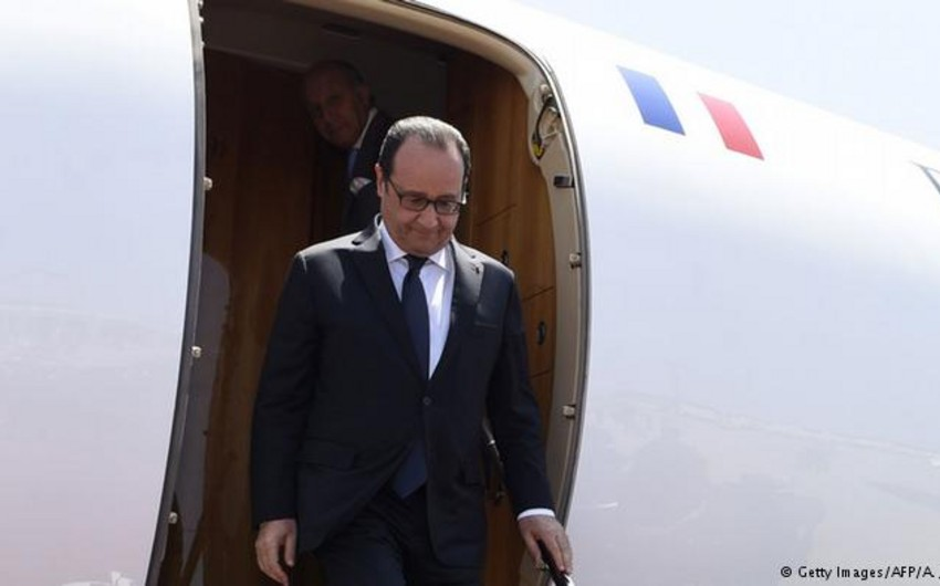 Fransa prezidenti və baş naziri Nitsaya gedib