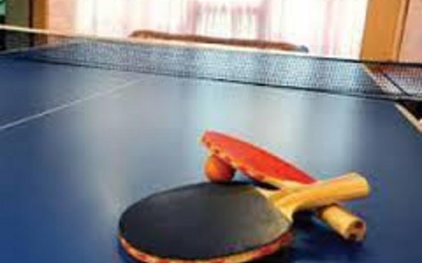 Azərbaycan stolüstü tennisçiləri Tehrana yollanacaq