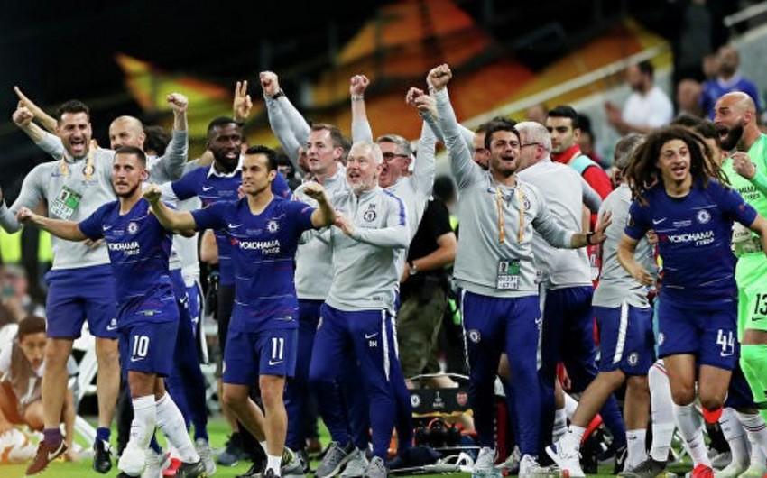 Çelsinin 8 futbolçusu Avropa Liqasında mövsümün komandasına daxil olub