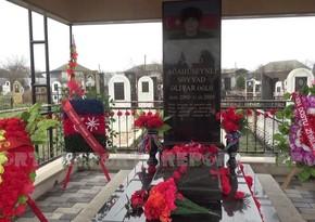 Doğum günü məzarı önündə qeyd edilən 19 yaşlı qəhrəman
