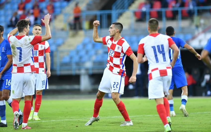 Сборная Азербайджана U-21 начала отборочный раунд с поражения