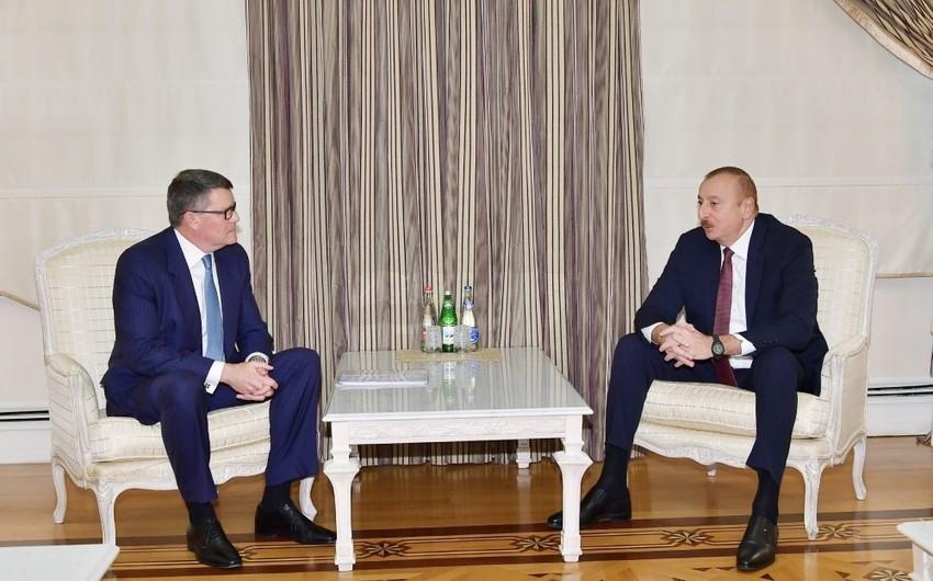 President Ilham Aliyev received CISCO delegation