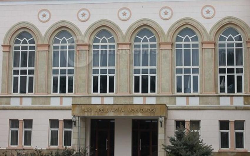 Füzuli Rayon İcra Hakimiyyəti başçısının keçmiş nümayəndəsi apellyasiya şikayəti verib