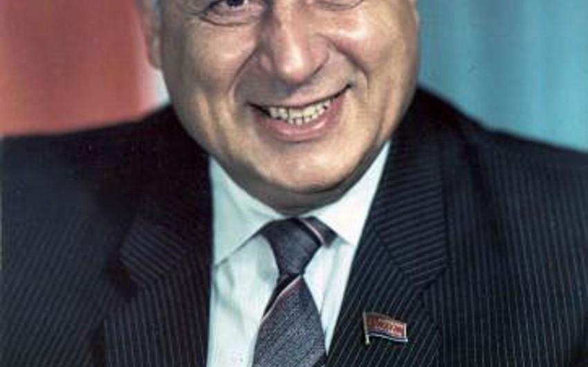 Məlik Dadaşovun 90 illik yubileyi keçiriləcək