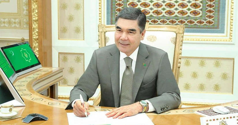 Turkmen president says joint work at Dostlug field will be effective