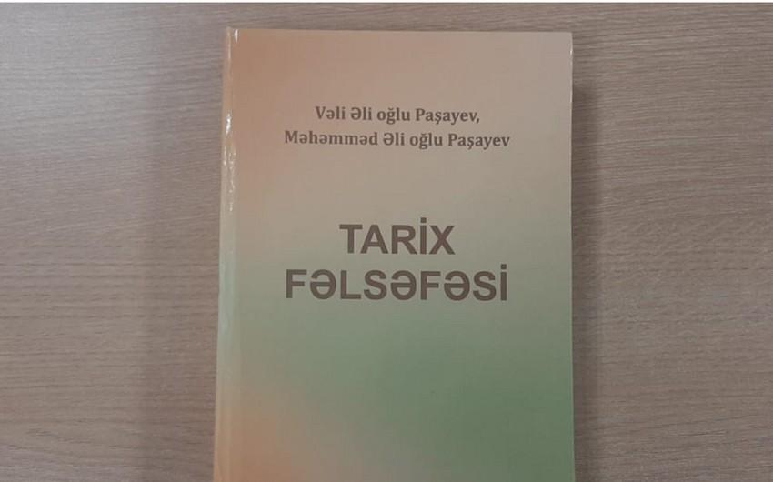 Tarix fəlsəfəsi kitabında müasir məsələlər təhlil edilir
