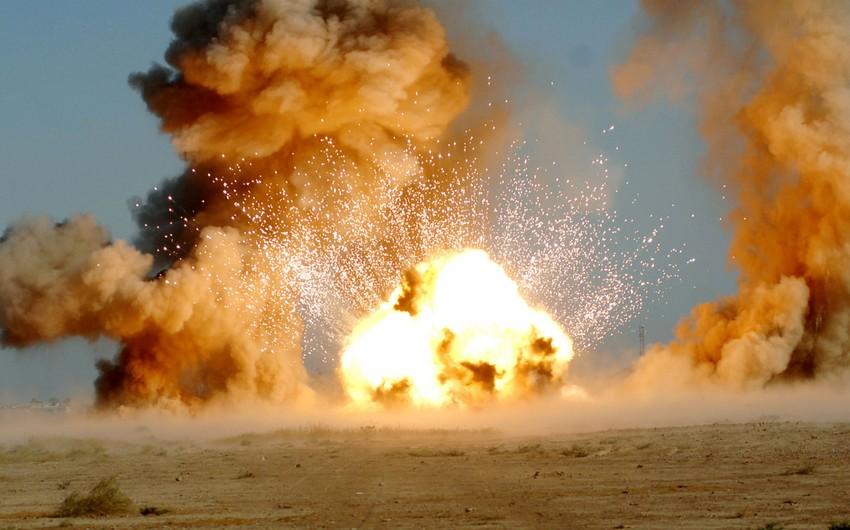 Malidə hərbi bazada partlayışda azı 37 nəfər ölüb