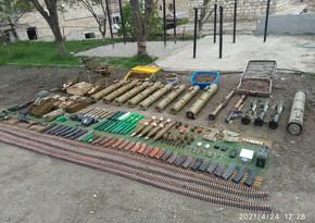 В Шуше обнаружены боеприпасы
