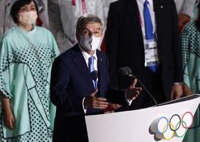 Токио-2020: Глава МОК посетил первые медальные соревнования