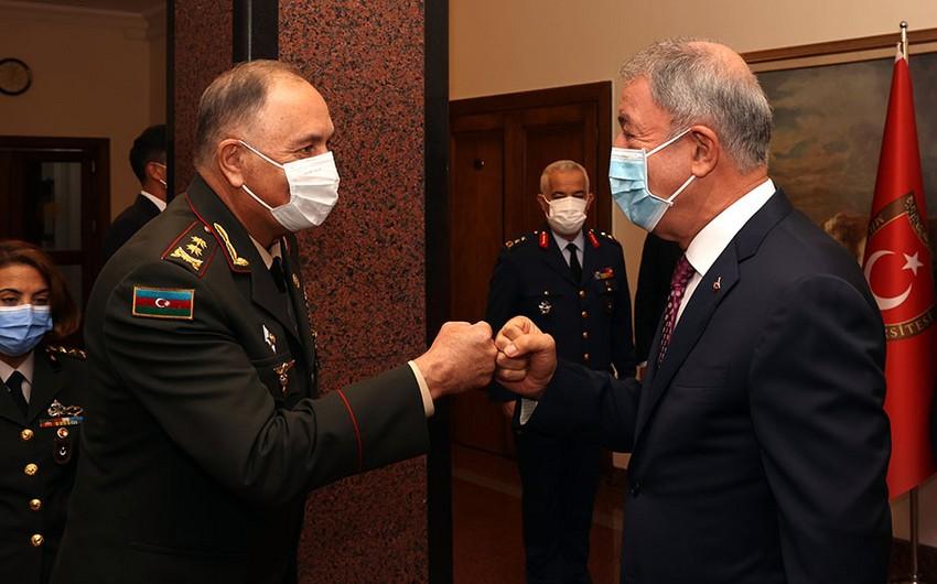 Turkish Defense Ministry issues statement on Hulusi Akar's meeting with Karim Valiyev