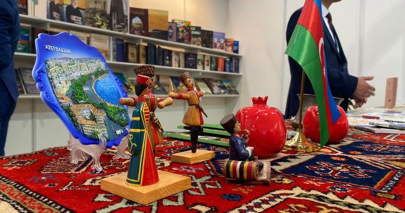 Beynəlxalq kitab yarmarkasında Azərbaycan kitabları da nümayiş olunur