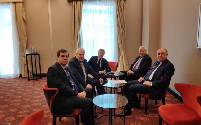 Elmar Mammadyarov's meeting with co-chairs kicks off in Bratislava