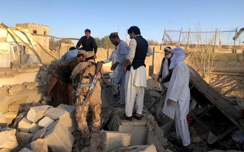 В Афганистане при разрыве снаряда погибли пять человек