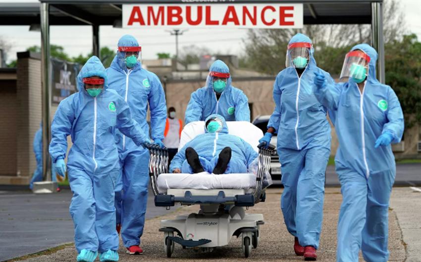 ABŞ-da bir gündə 242 nəfər koronavirusdan öldü