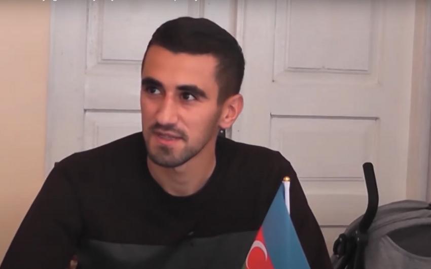 """Qarabağ qazisi: """"Döyüşdəayağımı itirdiyim yerlərdə olmaq istəyərdim"""