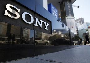 Sony logs record net profit