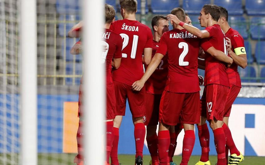 Çexiya yığmasının Almaniya və Azərbaycanla oyunlar üçün heyəti açıqlanıb