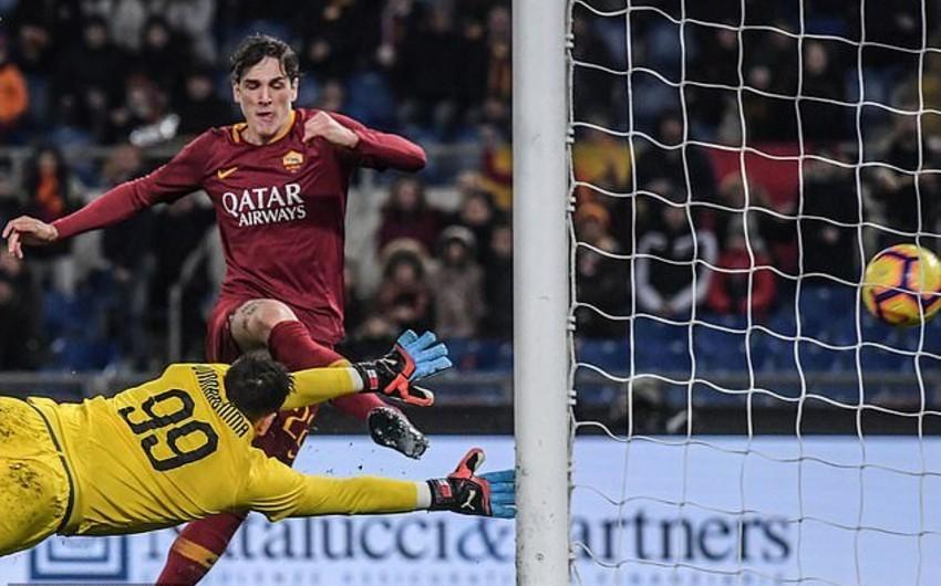 Милан в гостях сыграл вничью с Ромой