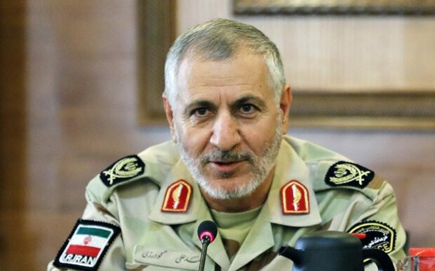 İran Sərhəd Qoşunlarna yeni komandan təyin edilib
