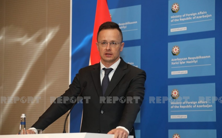 XİN başçısı: Azərbaycanla Macarıstan arasında açıq qalmış heç bir siyasi məsələ yoxdur