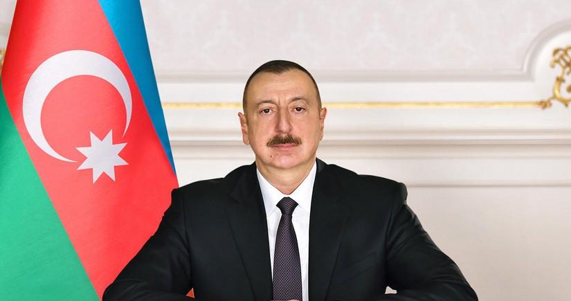 Ильхам Алиев поздравил Владимира Путина