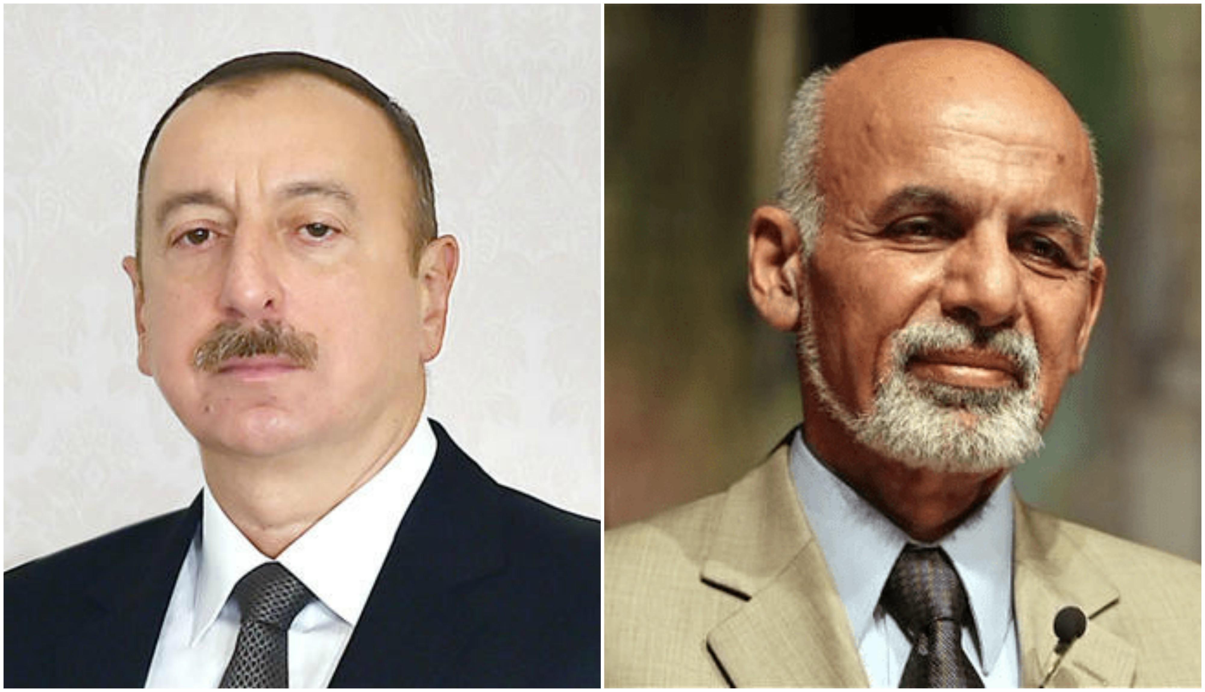 Президент Ильхам Алиев выразил соболезнования афганскому коллеге