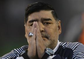 Xəstəxanaya yerləşdirilən Maradonanın durumu açıqlandı