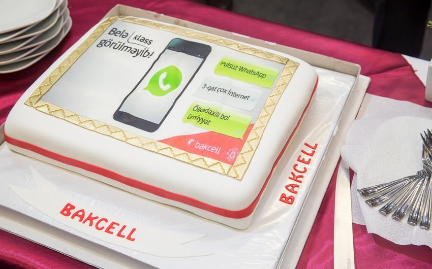 """""""Bakcell""""in yeni tarifi ilə Whatsapp-a pulsuz qoşulmaq mümkün olacaq"""