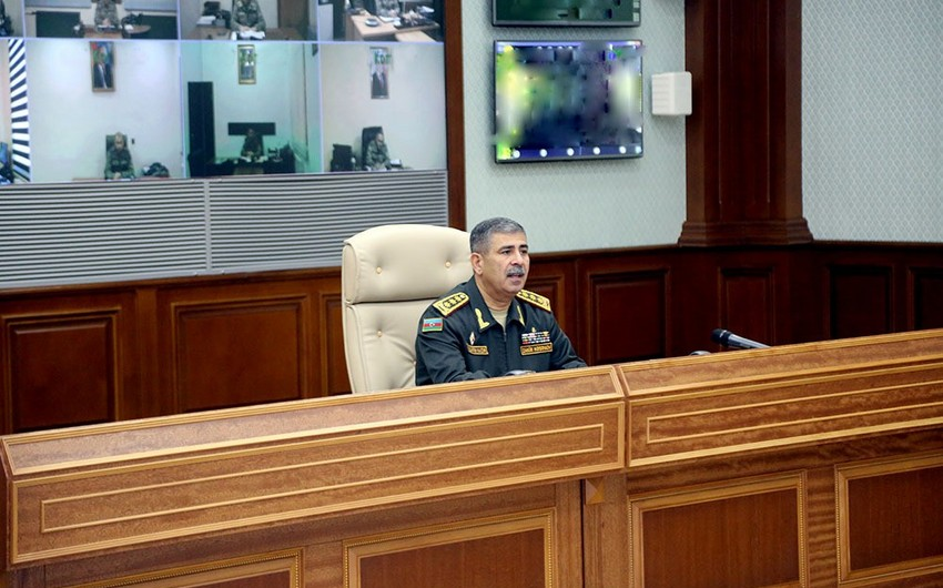 Zakir Hasanov: Our army must be ready for military operations at any time