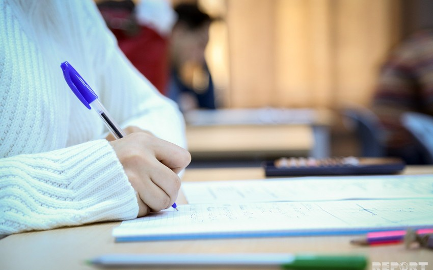 I-IV ixtisas qrupları üzrə ali təhsil müəssisələrinə qəbul üzrə sınaq imtahanları başa çatıb