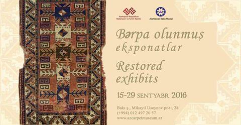 Carpet Museum to host 'Restored exhibits' show