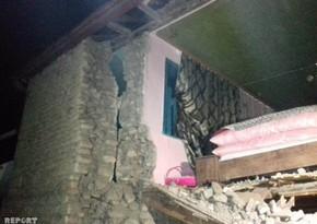 Последствия землетрясения в Шамахы - ВИДЕОРЕПОРТАЖ
