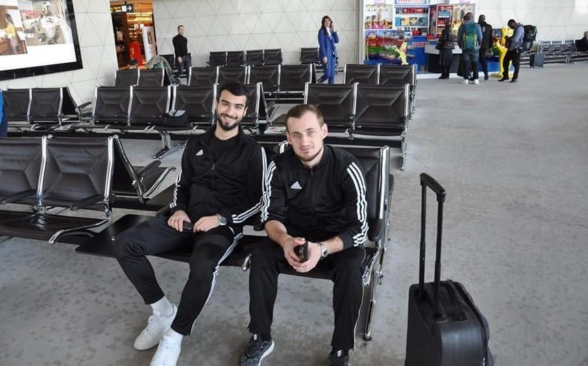 Qarabağ Sevilya ilə oyun üçün İspaniyaya yollanıb