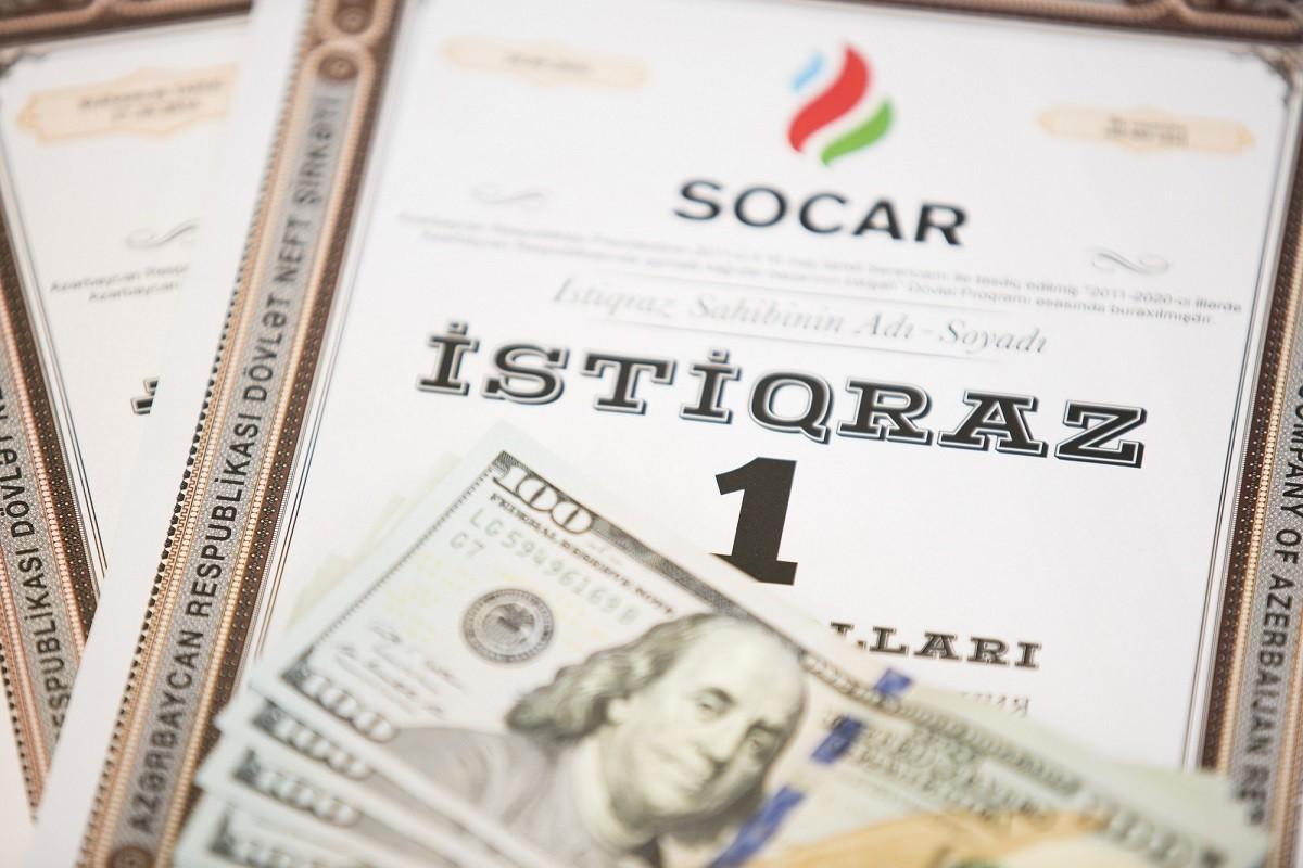 SOCAR istiqrazlarının 12-ci faiz ödənişi həyata keçiriləcək
