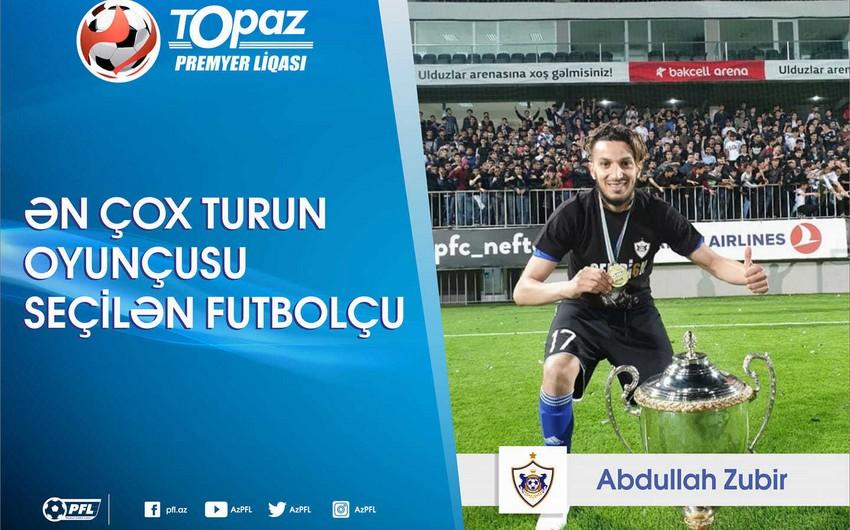 Qarabağın legioneri ən çox turun oyunçusu seçilən futbolçu olub
