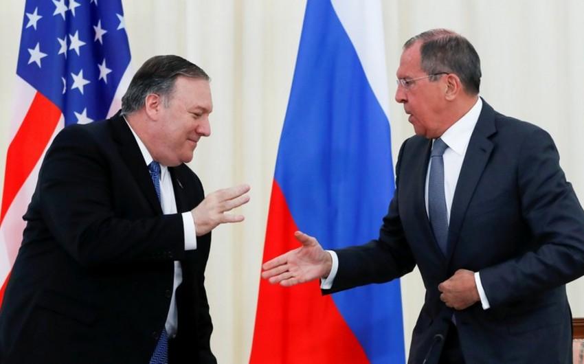 В Вашингтоне началась встреча Лаврова и Помпео