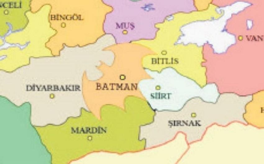 Türkiyə sakini Batman vilayətinin sərhədlərini Betmen loqotipi formasında etməyi təklif edib