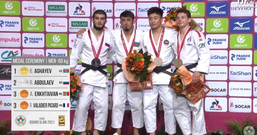 Большой шлем: Балабей Агаев завоевал золото, а Хидаят Гейдаров бронзу