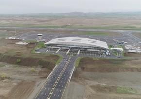 Füzuli Beynəlxalq Hava Limanı saatda ən azı 200 sərnişinin buraxılışına imkan verəcək
