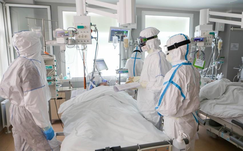 ÜST: Bir gündə COVID-19-dan 5 mindən çox insan ölüb